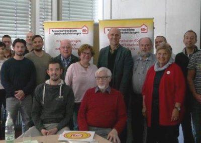 Teilnehmer Zertifizierungsschulung März 2019
